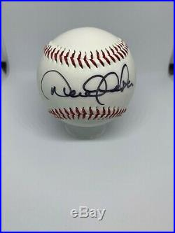 Derek Jeter Signed Baseball JSA Certified Autograph Rare Yankees Auto Pearl HOF