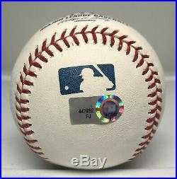 Derek Jeter Signed Baseball RARE Passed Mel Ott Inscription MLB Hologram