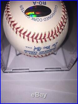 Derek Jeter Signed Baseball Steiner Certified Auto Autographed Roy 96 Mvp Rare