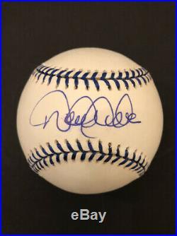 Derek Jeter Signed Baseball Steiner Holo Joe DiMaggio Enterprises Ball RARE