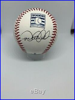 Derek Jeter Signed HOF Baseball JSA Certified Rare Logo Autograph Perfect Auto