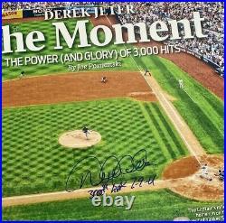 Derek Jeter Signed Inscribed 3000th Hit Photo Dj3k Rare Limited Edition Steiner