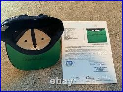 Derek Jeter Signed Yankees Hat JSA Certified Autograph HOF 2020 Auto Rare