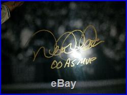 Derek Jeter Signed in GOLD 16x20 Inscription 00 ASG MVP LE/22 Steiner RARE