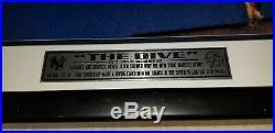 Derek Jeter The Dive, Signed 16x20, Steiner, Rare