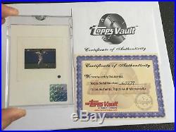 Derek Jeter Topps Vault Original Color Slide Negative 2002 New York Yankees Rare