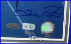 Derek Jeter Tunnel Signed/Auto/Framed 16x20 Inscribed RARE Photo Steiner 142179