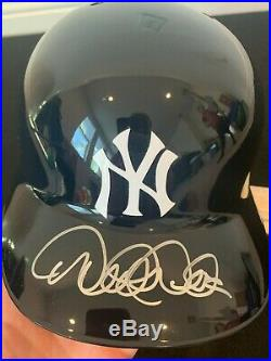 Derek Jeter Yankees Batting Helmet Auto Autograph Signature Steiner Coa Rare