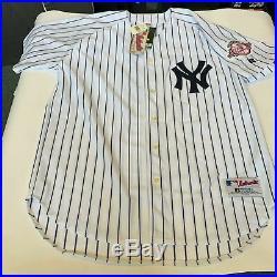 Derek Jeter Yankees Captain Signed Inscribed Yankees Jersey Steiner COA Rare