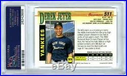 Derek Jeterrare 1993 Bowman #511 Psa-10 Gem-mt Hot Mlb Baseball Rookie Rc Card
