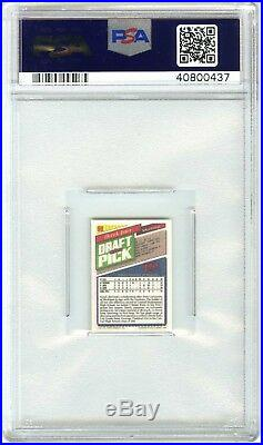 Derek Jeterrare 1993 Topps Micro #98 Psa-9 Mint (pd) Rookie Rc Card (pop 13)