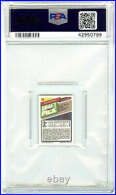 Derek Jeterrare Pop 3141993 Topps Micro Psa-9 Mint Rookie Rc Card #98 New Case