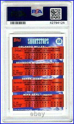 Derek Jeterrare (pop 272) 1994 Topps Prospects Psa-10 Gem-mt Rookie Rc Card#158