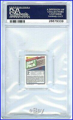 Derek Jetervery Rare (pop 211) 1993 Topps Micro Psa-9 Mint Rookie Rc Card #98