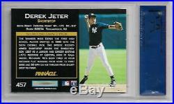Future HOF Derek Jeter 1993 Pinnacle #457 ROOKIE RARE PSA 10 GEM MINT 3465 HITS