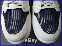 Men's Nike Air Jordan 1 High Flyknit Derek Jeter / Ah7233-105 / Rare Sz11