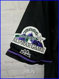 NWT New York Yankees 1998 National MLB All Star Game ASG Jersey Colorado L RARE