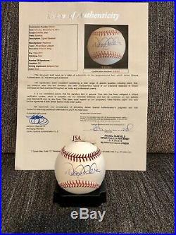New York Yankees Signed Auto Jsa Loa Derek Jeter Baseball World Series Rare