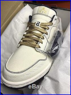 Nike Air Jordan 1 Phat Low Derek Jeter PE DS RARE QS NY YANKEES 11.5