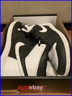 Nike Air Jordan 1 Retro OG High Derek Jeter RE2PECT 3M Sz 10.5 Rare Respect