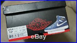 Nike Air Jordan Retro 1 High OG Derek Jeter Size 10.5 NEW DS OG ALL RARE YANKEES