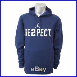 Nike Men's Air Jordan RESPECT Hoodie Derek Jeter RE2PECT Sz XL 828553 419 RARE