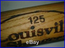 Old 1990's RARE DEREK JETER Bat ROOKIE ERA Louisville Slugger 125 NY YANKEES