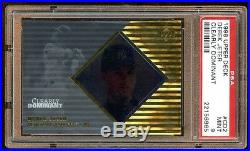 Pop 2 Psa 9 Derek Jeter 1998 Ud Clearly Dominant /250 Super Rare Mint Psa 9 Hof