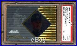 Pop 2 Psa 9 Derek Jeter 1998 Ud Clearly Dominant /250 Very Rare Mint Psa 9 Hof