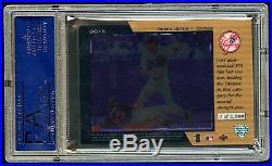 Psa 10 Derek Jeter 1998 Ud Blue Chip Prospect 1 Of 2000 Rare Gem Mint 10 Jeter
