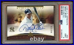 Psa 9 Derek Jeter 2005 Upper Deck Autograph Sp #d 004/350 On Card Auto Hof Rare
