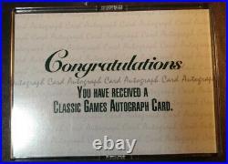 RARE 1992 Derek Jeter Classic Rookie LE #128/1125 Autograph Signed Yankees HOF