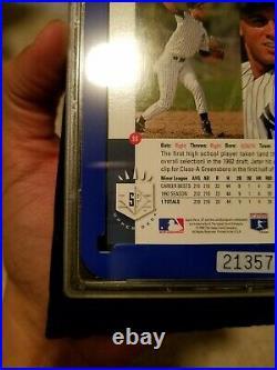 RARE 1993 SP Foil #279 Derek Jeter Yankees RC Rookie PSA CSA 9 MINT GRAIL
