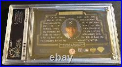 RARE 1996 DEREK JETER SPx GOLD DIE CUT ROOKIE #43 PSA 10 YANKEES POP 18 (506)