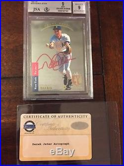 RARE 1/1 Derek Jeter SP Rookie Card Auto/Signed & Graded