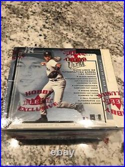 RARE 2002 Fleer Ultra Baseball Hobby Box Factory Sealed 24 Pack