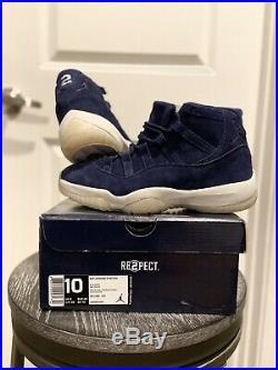 RARE Air Jordan 11 Retro Hi OG Derek Jeter Re2pect SAMPLES Deadstock