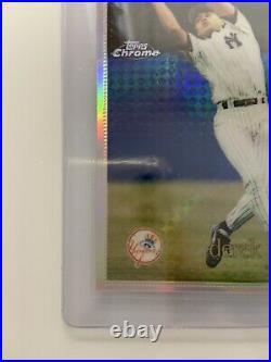 RARE Derek Jeter 1996 Topps Chrome REFRACTOR New York Yankees #80