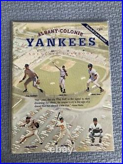 RARE MINT 1994 YANKEES ALBANY COLONIE YEARBOOK with GEM Jeter Rookie intact