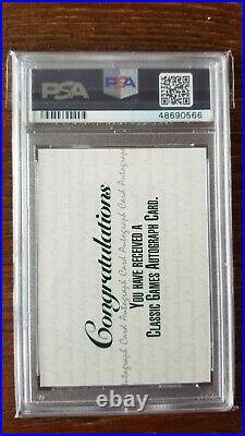 RARE PSA 10 1992 Classic 4 Sport Derek Jeter Autographed Rookie Card POP1/4