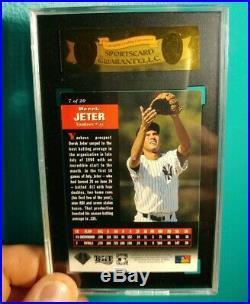Rare 1994 Upper Deck ALL-TIME HEROES Next-In-Line #7 Derek Jeter Rookie Card