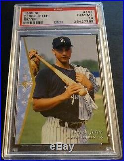 Rare 1995 Derek Jeter Sp Silver #181 Psa 10 Rookie Pop 32 Yankees (752)