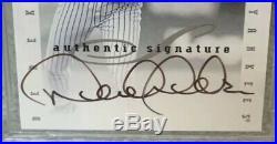Rare 1996 Leaf Signature Century Marks Autograph /100 Derek Jeter Hof Bgs 9 Auto