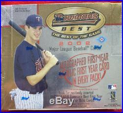Rare 2002 Bowman's Best Baseball Hobby Box Ken Griffey Jr. Derek Jeter