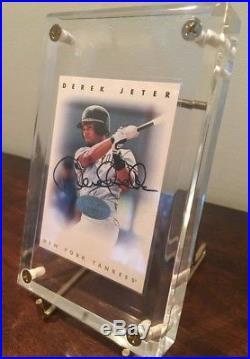 Rare Derek Jeter 1996 Leaf Silver Sp/200 Autograph Mint Bgs Psa Perfect 10 Auto
