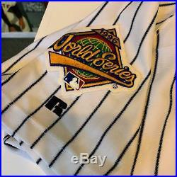 Rare Derek Jeter Rookie Signed New York Yankees 1996 World Series Jersey Steiner