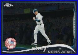 Rare SSP 2014 Derek Jeter Topps CHROME IMAGE VARIATION (140,0001)
