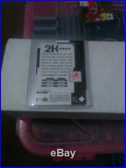 Super Rare Derek Jeter 1999 Upper Deck 2k Plus Die-cut # 061\100