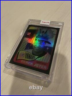 Topps PROJECT 70 Card 106 1965 Derek Jeter by Pose Rainbow foil 16 /70 Rare