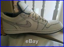 ULTRA RARE Size 11.5 Nike Air Jordan 1 Phat Low Derek Jeter QS with receipt